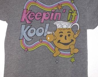 Retro Kool Aid Rainbow Girls T-shirt