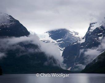 Lake Lovatnet Norway
