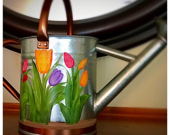 Tulip Watering Can, medium