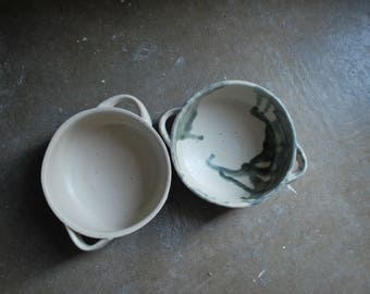 Handled Mountain Bowls