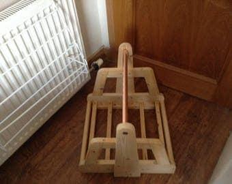Timber Log Basket