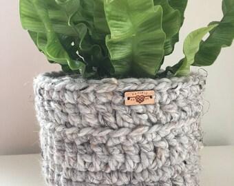 Plant Cozy / Crochet Basket