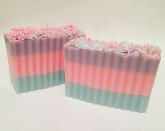 Cotton candy soap