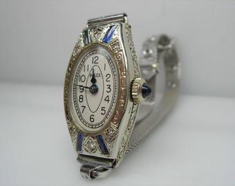 Ladies vintage 14k Rolex watch