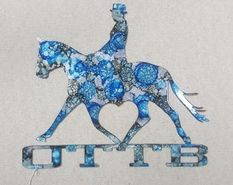OTTB Dressage Wall Art