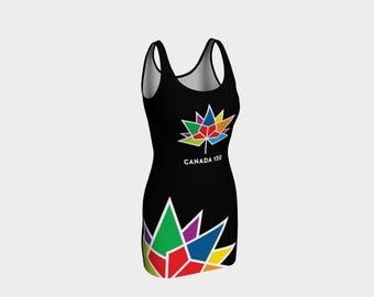 Canada 150 dress, Canada Day dress, 150 Canada, Bodycon dress, Canada day outfit