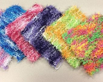 Knit Scrubby Dishcloth/Washcloth