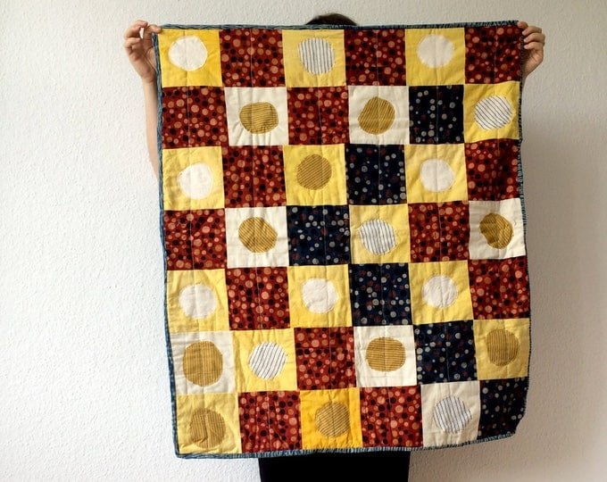 Quilt Patchwork Playing Mat and Cover