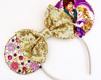 The Light - Handmade Mouse Ears Headband