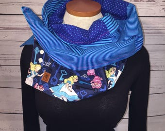 wife, daughter, coworker, scarf, gift scarf, Alice blue