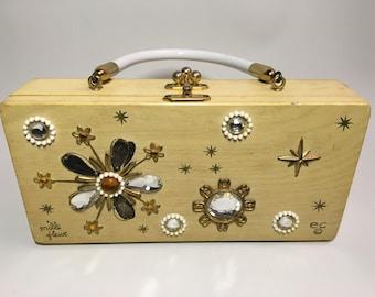 Enid Collins Box Bag Mille Fleure