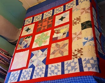 Queen handmade quilt