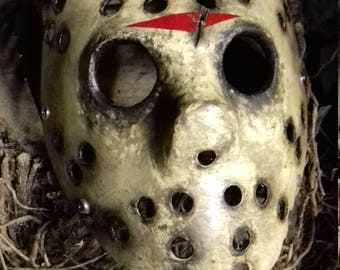 Friday the 13th jason x variant  hockey mask,hand painted prop,replica,horror,memorabilia,custom.New,2017.