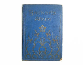 Brefkorts Album. Antique Brefkorts Photo Album. Antique Victorian Leather Photo Album. Art Nouveau, Collectibles