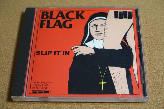 Slip It In by Black Flag Vintage CD Compact Disc
