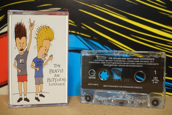 The Beavis And Butt-Head Experience by Various Artists Vintage Cassette Tape