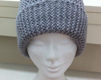 Very light grey Hat