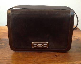 70s vintage bag | Suede vintage bag | Brown leather Bag | Vintage leather Bag | Suede shoulder bag | vintage shoulder bag | Made in Italy |