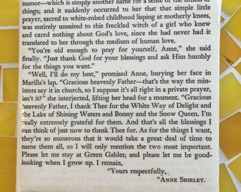 Coaster of Anne of Green Gables - Anne's Prayer