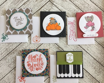 Handmade Small Greeting Cards