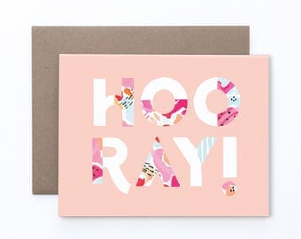 HOORAY! // Card