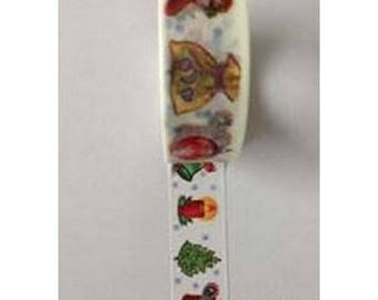 Washi Tape Masking Tape Ribbon tape 10 m Christmas II