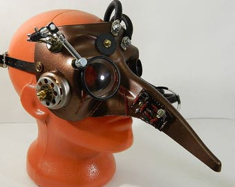 """Steampunk Mask ''CHUMNYY DOCTOR-2"""""""
