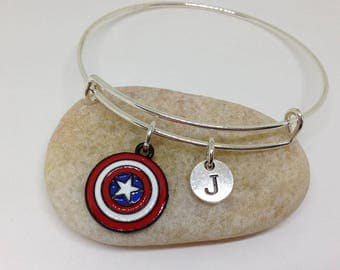 STUCKY Till the End of The Line Necklace Winter Soldier Captain America Friendship/Soul mate necklace