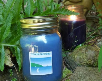 Meditation Candle - Peace and Tranquility Spell Candle