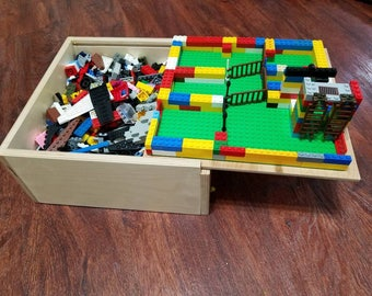 Lego Storage Box   By The 10 Year Old Toy Maker