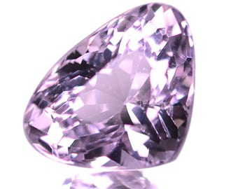 5.82 Ctw 12x9 Mm Blazzing Luster Pink Natural Kunzite Gemstone