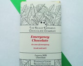 Three Emergency Chocolate Bars