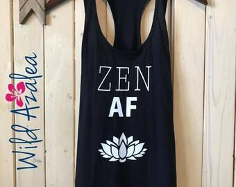 Zen AF Racerback tank