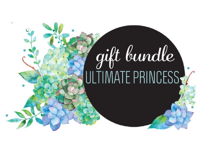 The 'Ultimate Princess' Earring Studs Gift Bundle