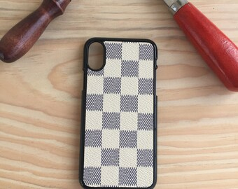 Lv iphone x case , iphone x case  , hand made iphone x case , Iphone x cover , Hand Made iphone x Cover