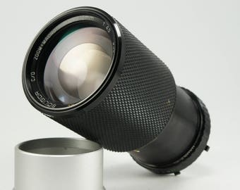 Soligor 70-210mm f/4.5 Zoom + Macro Lens for Olympus MD-Mount