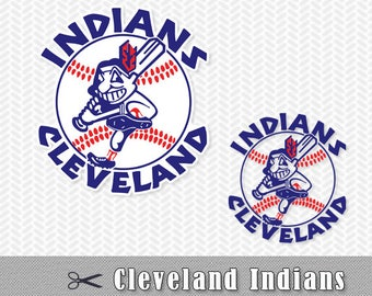Cleveland Indians Layered SVG PNG Logo Cut File Silhouette Studio Cameo Cricut Design Template Stencil Vinyl Decal Tshirt Transfer Iron on