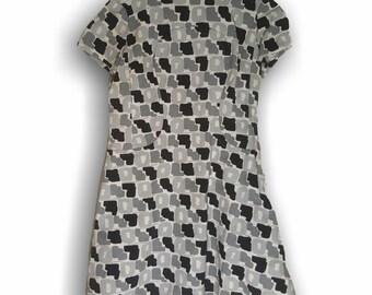 Pierre Cardin   Pierre Cardin Dress   60s Pierre Cardin   Mod Pierre Cardin   Wool Shift Dress   60s Mod Dress   Designer Vintage 60s