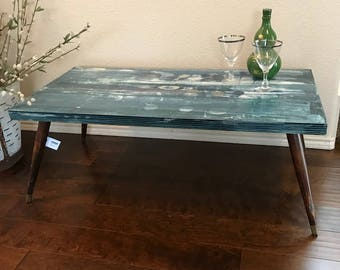 Mid Century Modern Abstract Table