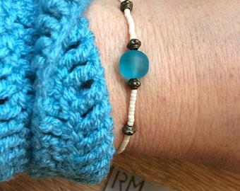 Copper cream bracelet turquoise romantic jewelry of antique style bracelet beads cream copper turquoise jewelry beads romantic antique style