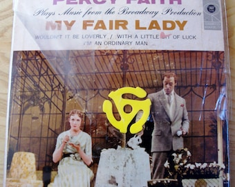 MY FAIR LADY Percy Faith .45 Ep ~ Columbia B-8953 with insert; Excellent Vintage condition.