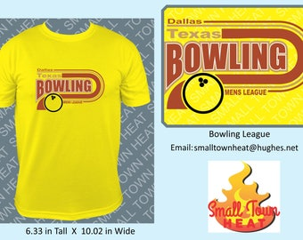Bowling League T-Shirts