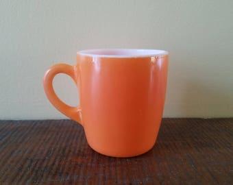 Hazel atlas Orange mug