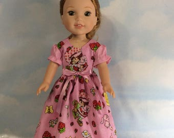 "Strawberry shortcake 14.5"" Wellie Wishers doll"