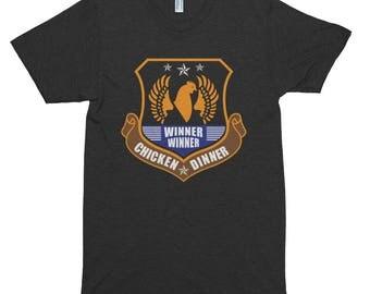 Winner winner chicken dinner Short sleeve soft t-shirt