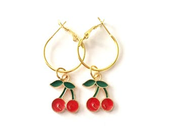 Mini Cherry Hoops