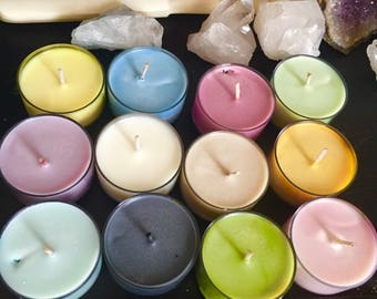Astrology Zodiac Candles ~ Specific Scents & Colors For Each Zodiac ~ 8 oz Jar ~ Leo Aquarius Aries Taurus Cancer Gemini Virgo Scorpio Etc