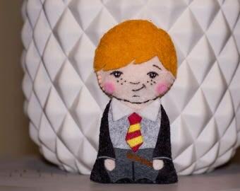 Mini plush Ron Weasley