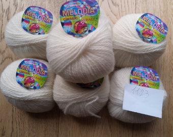 Yarn Adriafil 1123-Melody-yarn + acrylic + Mohair