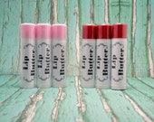 All Natural Lip Butter | You Choose Flavor | .15oz Tube | Lip Balm | Lip Moisturizer | Cupuacu Butter | Beeswax Lip Balm |